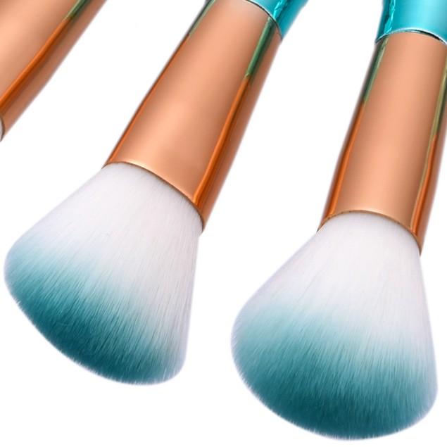 11PCS Fish Scale Brush Powder Blush Makeup Cosmetic Brush 157