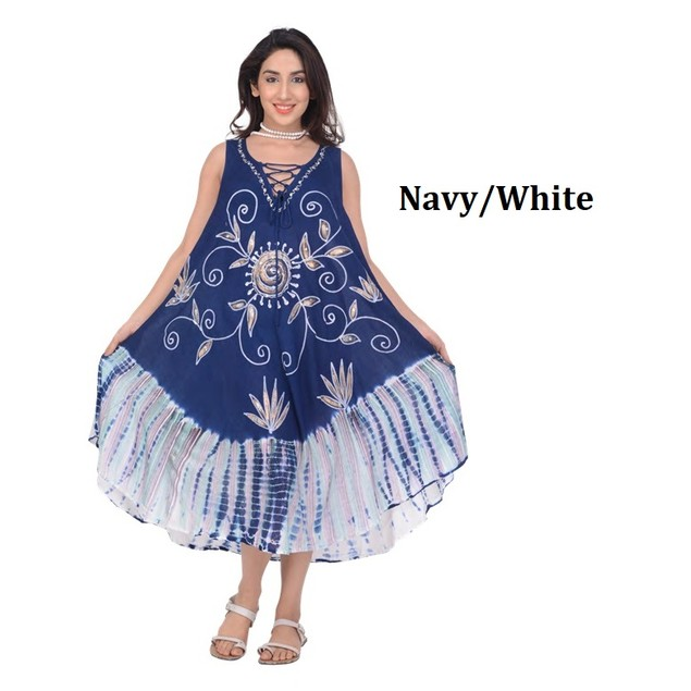 Women's Floral Print Summer Dress, Perfect for Beach, Cover up, Pool Resort