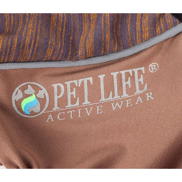Pet Life Active 'Chase Pacer' Performance Two-Toned Full Body Warm Up