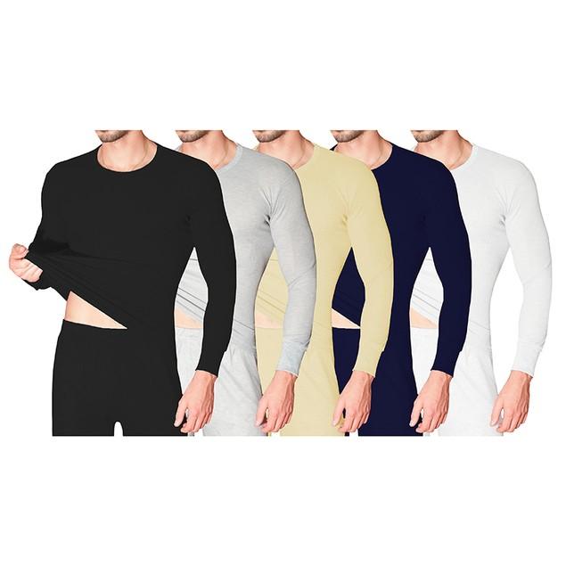 Men's 100% Cotton Waffle Knit Thermal Set (M-2X)