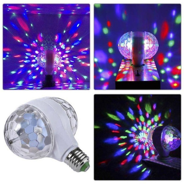 6W Colorful 2-Head Stage Lighting Lamp