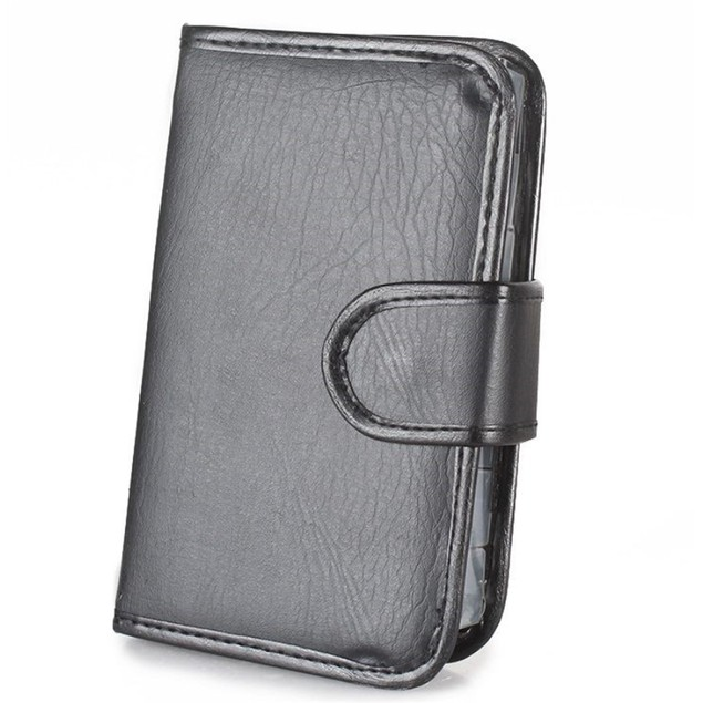 Weekly Pill Case Organizer Travel PU leather