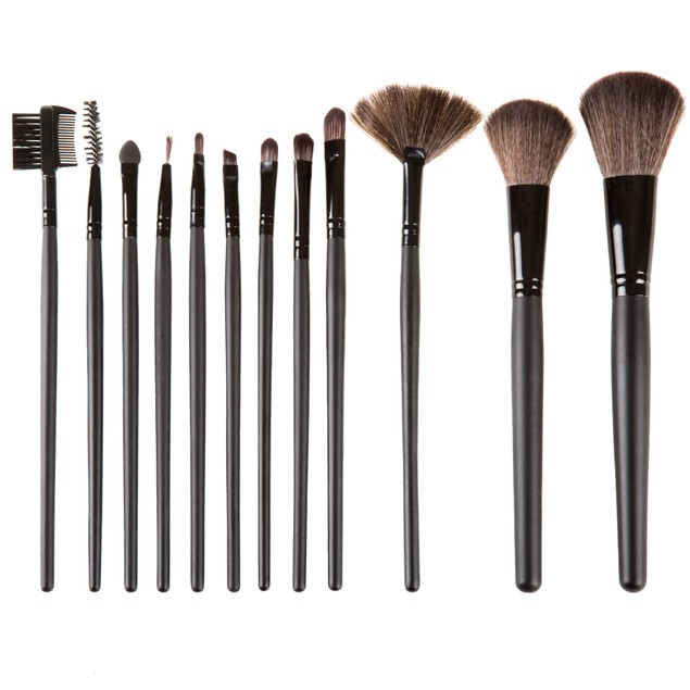 12 Piece Makeup Brush Set by Everyday Home