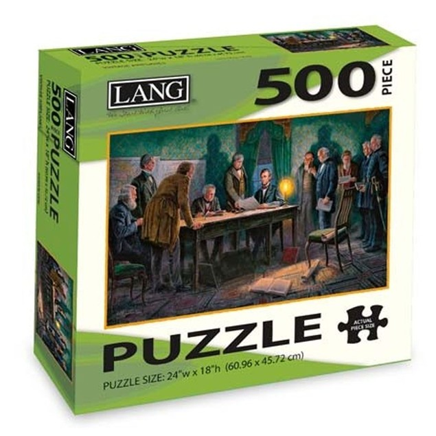 General Orders 500 Piece Puzzle, 500 Piece Puzzle by Lang Companies