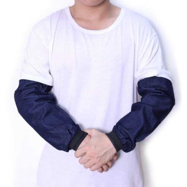 10 Pair Denim Dustproof Welding Protecting Elastic Arm Sleeves