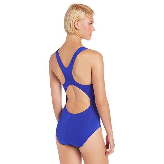 TYR Women's Durafast Elite Solid Maxfit Swimsuit (Royal, Size 40)