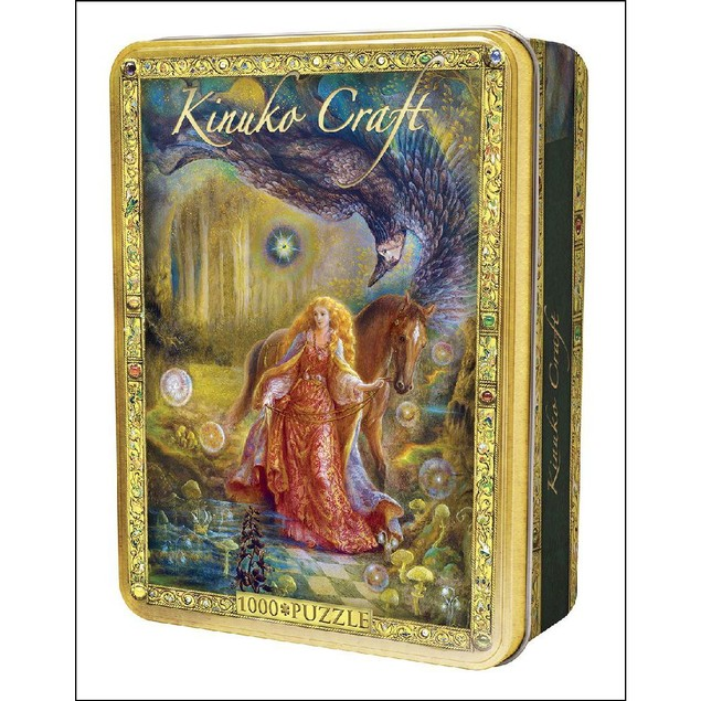 Kinuko Craft Tin - Daughter Of Exile 1000 Piece Puzzle