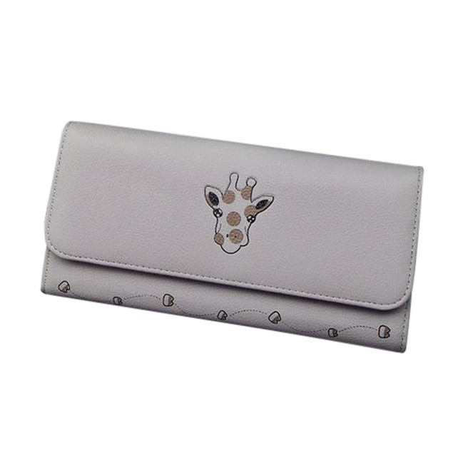 Women's Animal Prints Leather Handbag Zipper Bag Tote Lady Purse Wallet