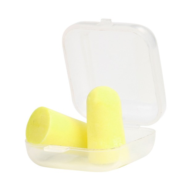 Soft  Ear Plugs Tapered Travel Sleep Noise Prevention Earplugs