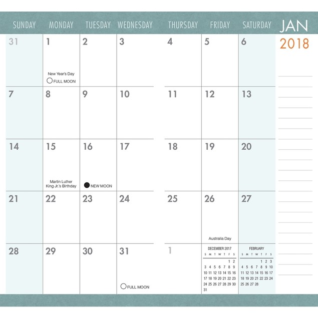 Simplicity Pocket Planner, More Inspiration by Calendars