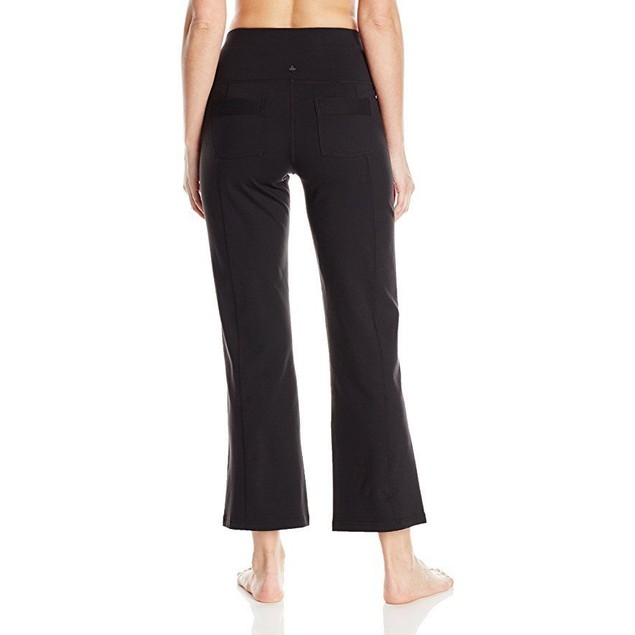 prAna Women's Short Inseam Vivica Pants, Black, Small