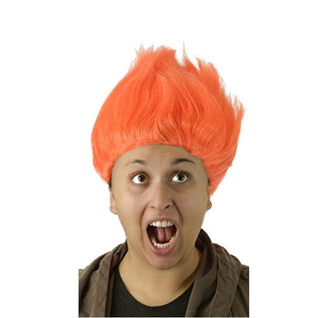 Orange Troll Wig