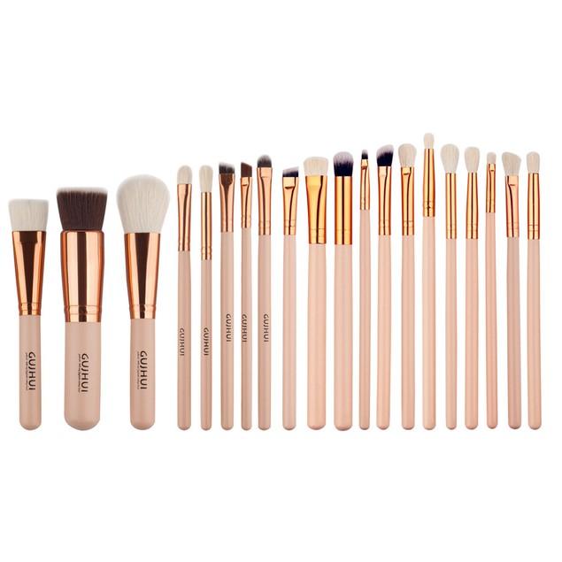 20 PCS Cosmetic Makeup Brush Makeup Brush Eyeshadow Brush
