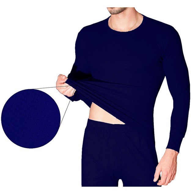 Men's 100% Cotton Waffle Knit Thermal Set (M-2X)