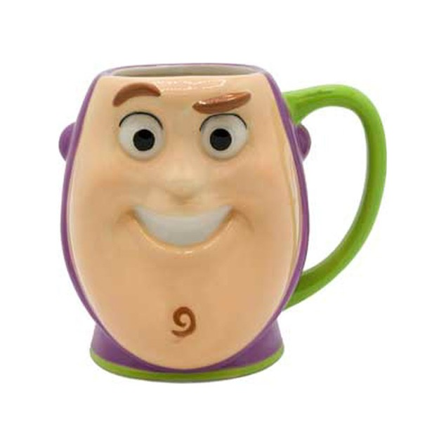 Toy Story Buzz Lightyear 3D Sculpted Ceramic Mug