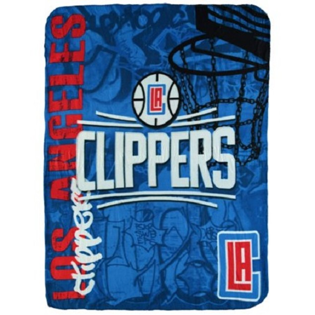 Los Angeles Clippers NBA Northwest Fleece Throw