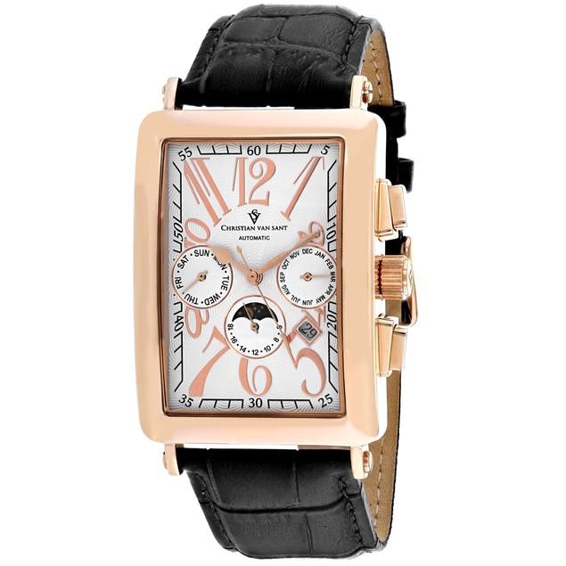 Christian Van Sant Men's Prodigy White Dial Watch - CV9140