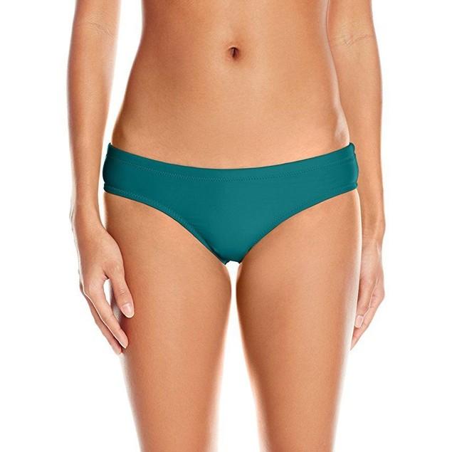Seafolly Women's Goddess Pleated Bikini Bottom, Red Hot, 8