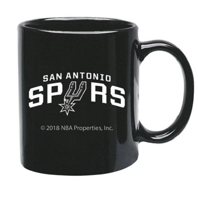 San Antonio Spurs NBA Black Ceramic Coffee Mug