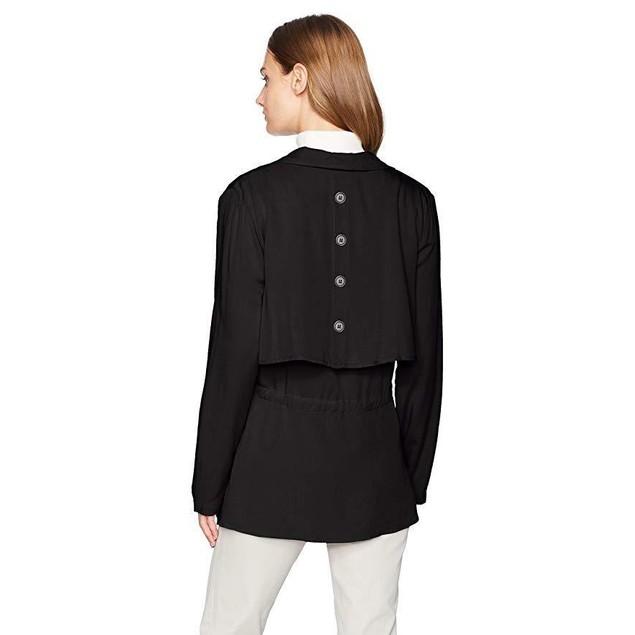 Jack by BB Dakota Women's Ernst Rayon Twill Double Layer Jacket SZ: M