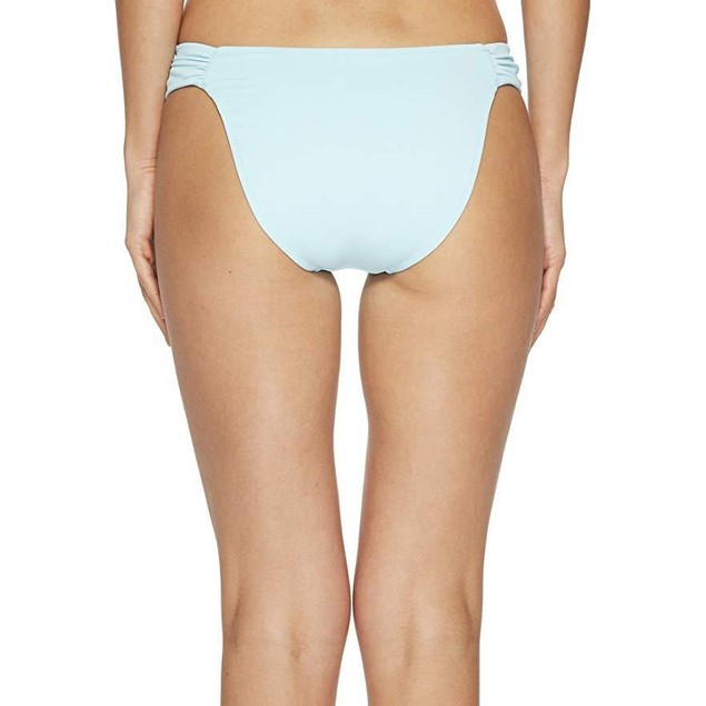 Letarte Women's Ruched Side Bottoms Aquamarine Medium