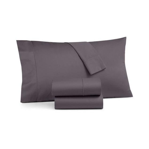 Charter Club Sleep Cool Tencel 3 Piece 68 X 96 Inch Twin Sheet Set, Dark