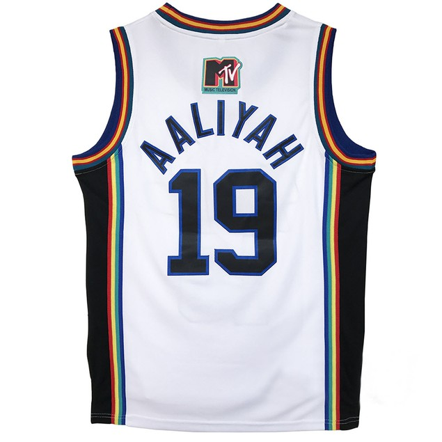 Aaliyah #19 Bricklayers Basketball Jersey