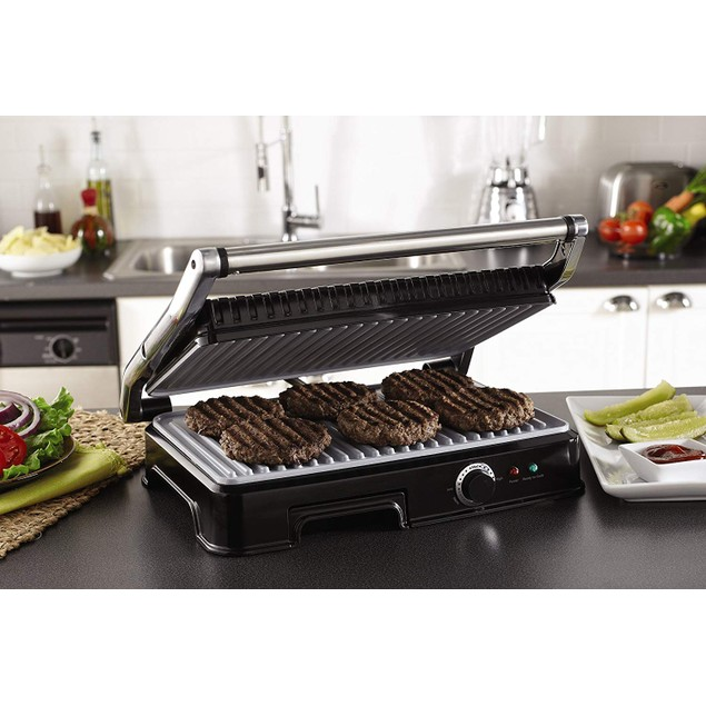 Oster Extra Large DuraCeramic Indoor Grill and Panini Maker