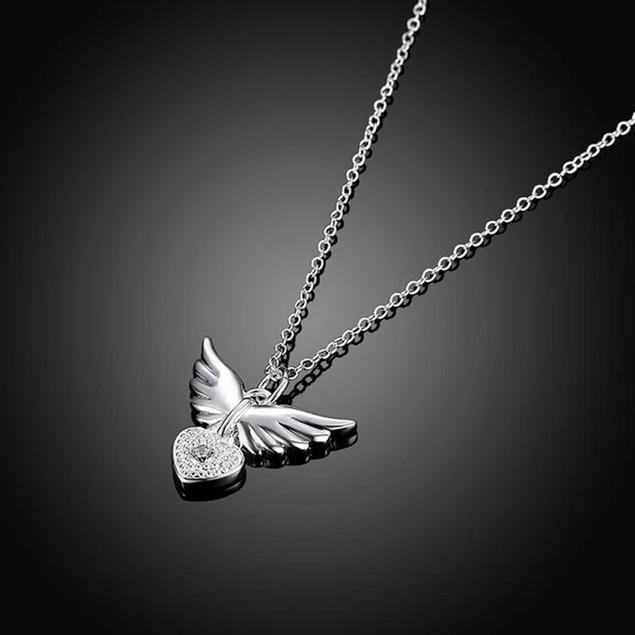 Hypoallergenic Heart Keeper Elegant Necklace
