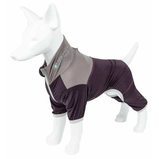 Pet Life Active 'Embarker' Performance Two-Toned Full Body Warm Up