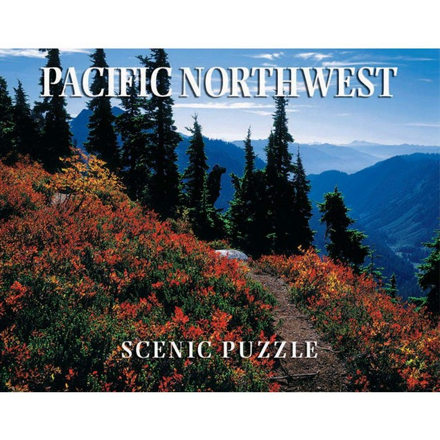 Pacific Northwest Scenic 300 Piece Puzzle, More Puzzles by Creative Arts Pu