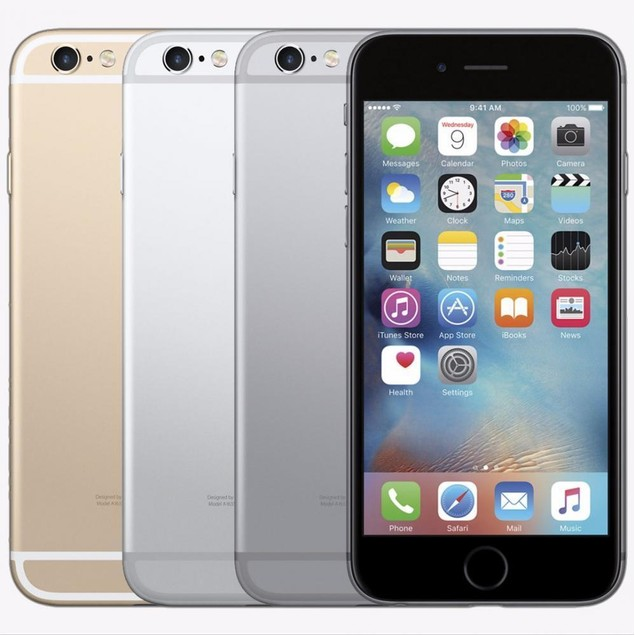 Apple iPhone 6 16GB, 64GB, 128GB GSM Unlocked (Black, Gold or Silver)