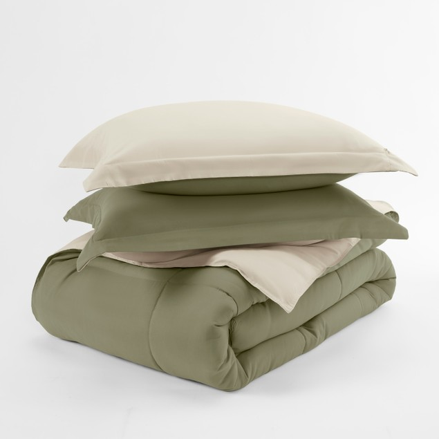 Home Collection Premium Down Alternative Reversible Comforter Set