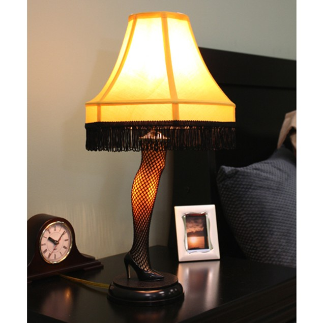 A Christmas Story Leg Lamp 20 Inch Real Working Light Shade Xmas Movie Gift