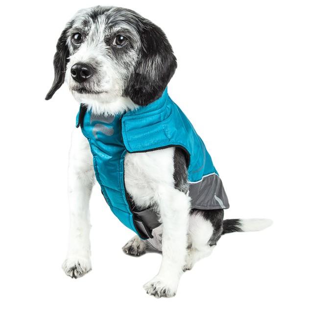 Helios Altitude-Mountaineer Velcro Protective Waterproof Dog Coat