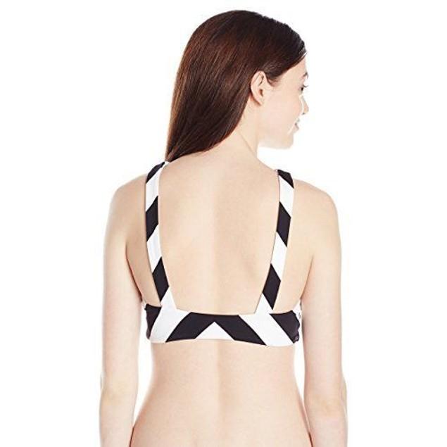 Rip Curl Women's Le Surf Reversible High Neck Bikini Top SIZE SMALL