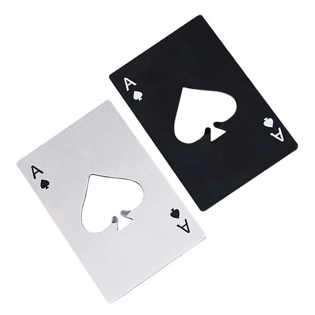 4-Pack Ace of Spades Bottle Opener