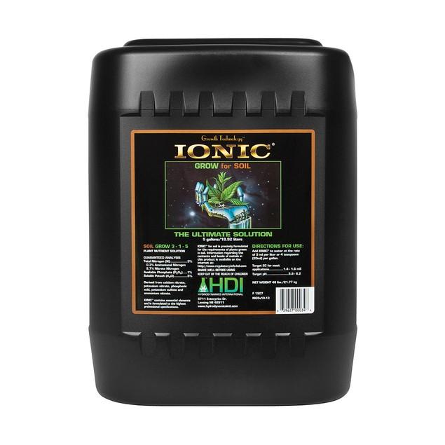 Ionic Grow for Soil, 5 gal