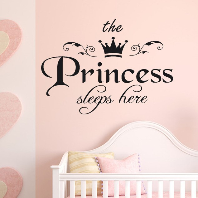 Vinyl Carving Wall Decal Sticker The Princess Decal Living Room Bedroom