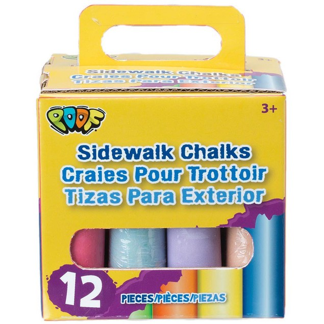 Sidewalk Chalks Pack, Skill Toys by Poof Slinky Inc.