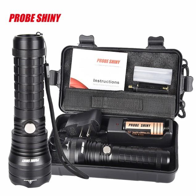 Bright X800 shadowhawk T6 LED Flashlight Torch Lamp G700 Light Kit