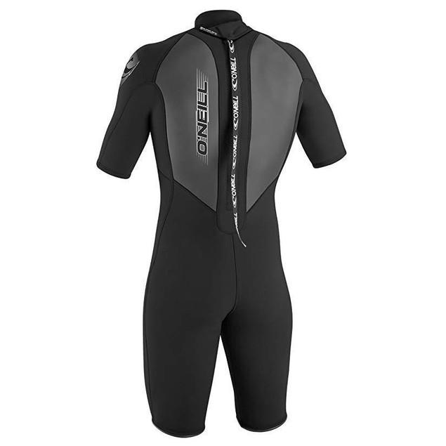 O'Neill Men's Reactor 2mm Back Zip Spring Wetsuit, Black, XXX-Large