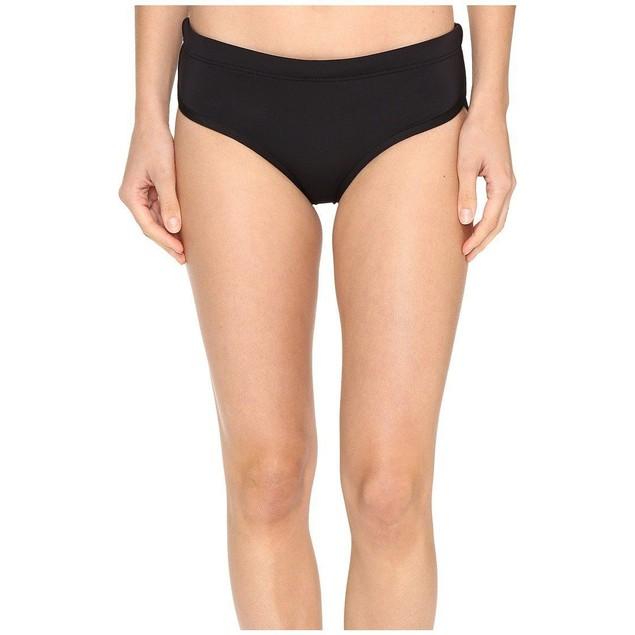 NWT TYR Womens Solid Zola hipkini, Black Bikini BOTTOMS SIZE MEDIUM (8