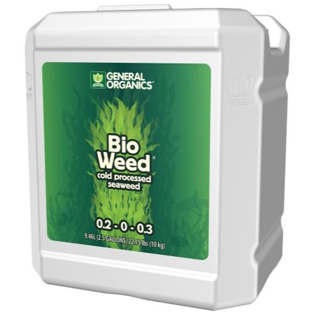GH General Organics BioWeed 2.5 Gallon (2/Cs)