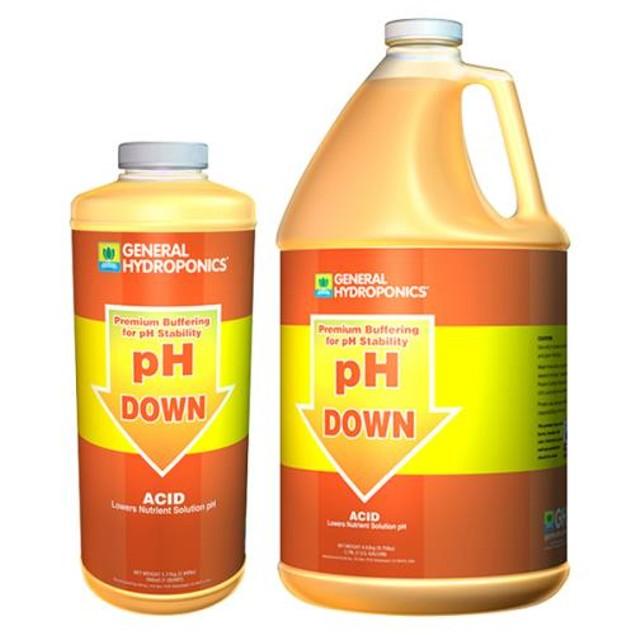 GH pH Down Liquid Quart (12/Cs)