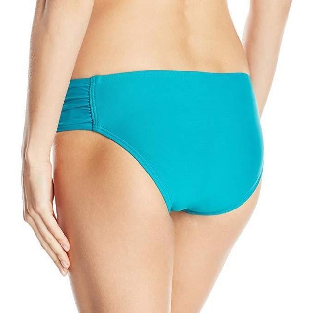 Next Women's Chopra Swimsuit Bikini Bottom, Good Karma Turquoise, Medi