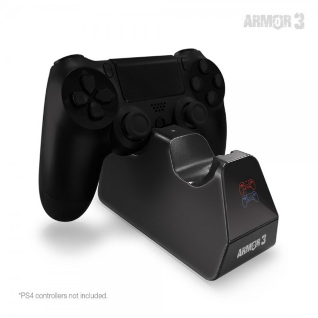"""TwinVolt"" Charging Dock for PS4 Controllers - Armor3"