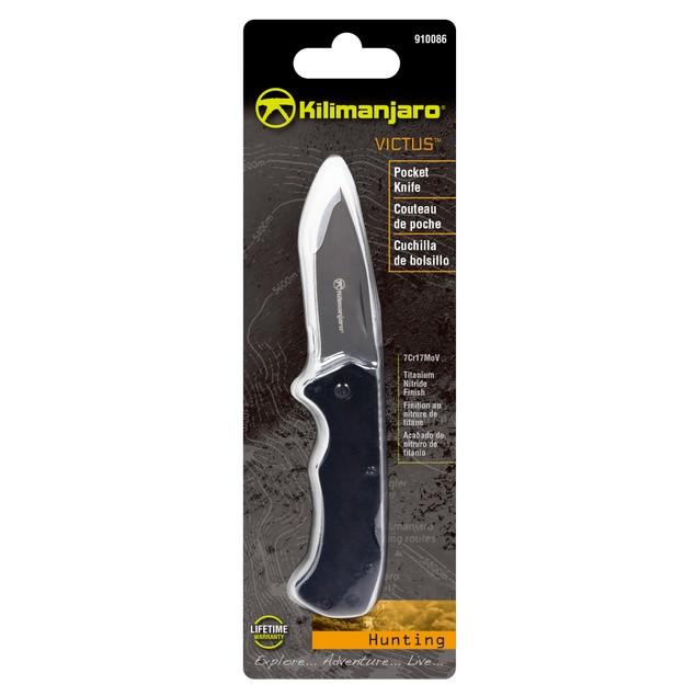 Kilimanjaro Victus 6 Inch Folding Knife - Drop Point - 910086