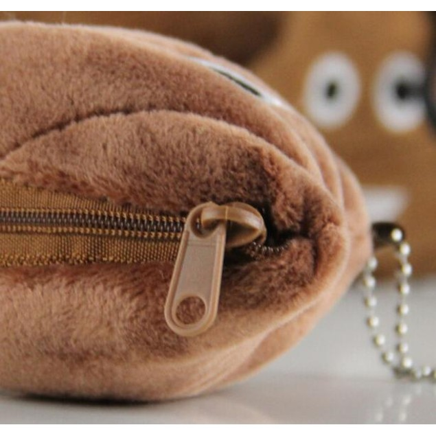 10*10cm Poo Pillow Plush Soft Emoji Emoticon Coin Purse Gift