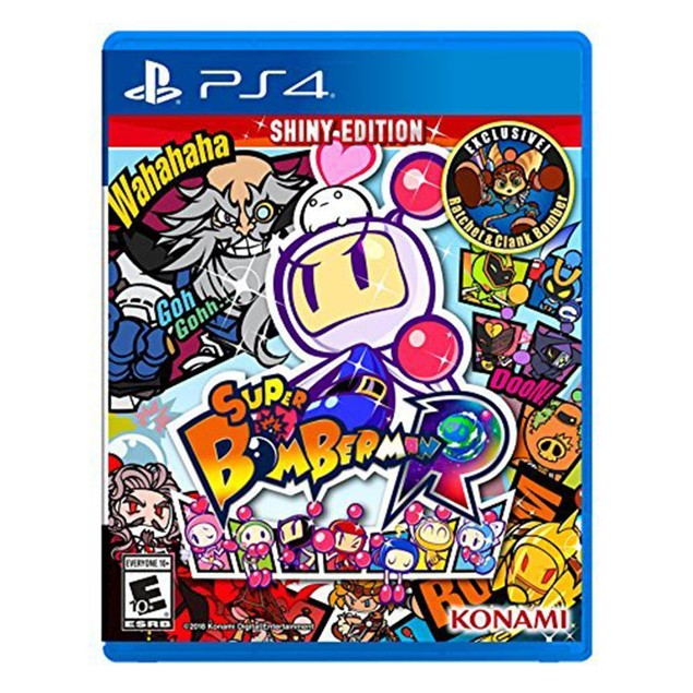 Super Bomberman R - PlayStation 4 Shiny Edition, Stainless Steel